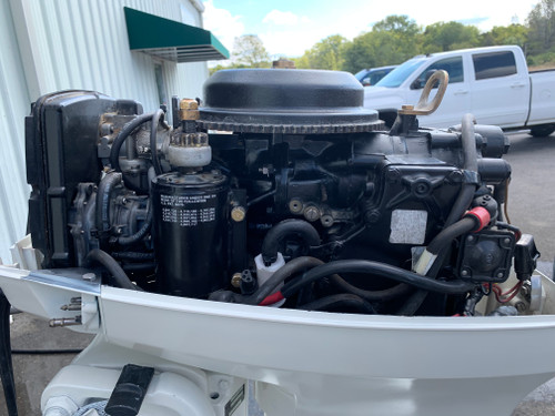 "1992 Johnson 40 HP 2 Cylinder Carbureted 2 Stroke 20"" (L) Outboard Motor"