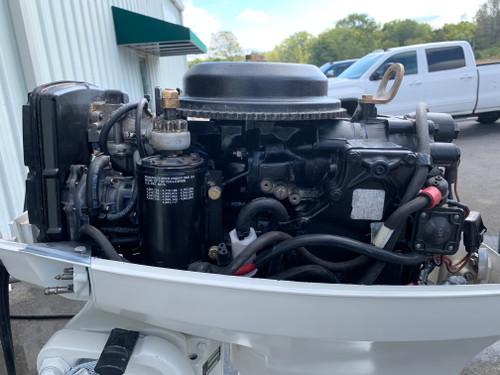 "1992 Johnson 40 HP 2 Cylinder Carbureted 2 Stroke 20"" (L) Outboard Motor"