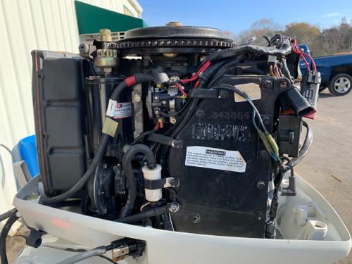 "1997 Johnson 60 HP 3 Cylinder Carbureted 2 Stroke 20"" (L) Outboard Motor"