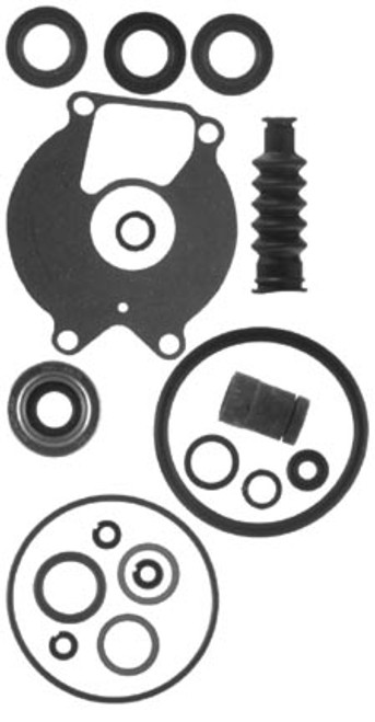 New Aftermarket Chrysler / Force / Mercury 9.9-25 HP Gearcase Seal Kit [Replaces OEM# 26-85090A2] (18-2624)