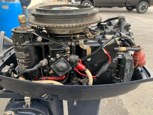 """1994 Evinrude 28 HP 2 Cylinder Carbureted 2 Stroke 20"""" (L) Outboard Motor"""