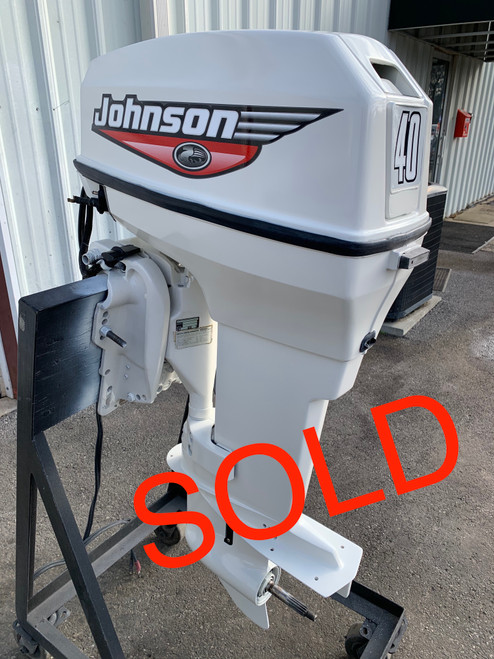 "2004 Johnson 40 HP 2 Cylinder Carbureted 2 Stroke 20"" (L) Outboard Motor"