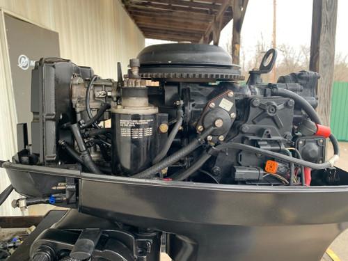 "2001 Johnson 50 HP 2 Cylinder Carbureted 2 Stroke 20"" (L) Outboard Motor"