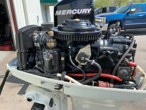 "1987 Johnson 48 HP 2 Cylinder Carbureted 2 Stroke 20"" (L) Outboard Motor"