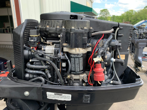 "1995 Johnson 115 HP V4 Carbureted 2 Stroke 20"" (L) Outboard Motor"