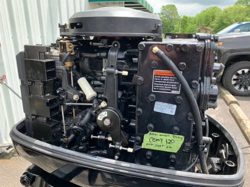 """2002 Mercury 75 HP 3 Cylinder Carbureted 2 Stroke 20"""" (L) Outboard Motor"""