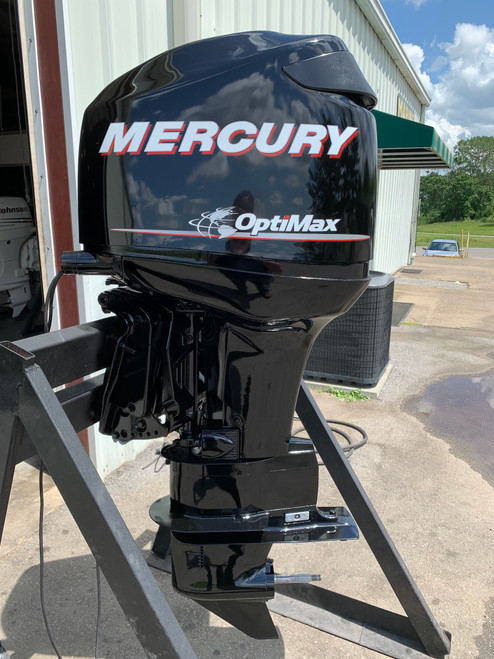 "2006 Mercury Optimax 115 HP 3 Cylinder DFI 2 Stroke 25"" (X) Outboard Motor"