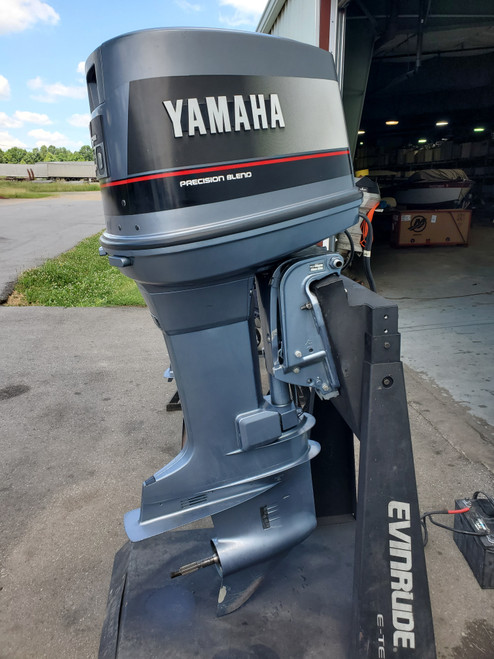"""1988 Yamaha 150 HP 6 Cylinder Carbureted 2-Stroke 25"""" (XL) Outboard Motor"""