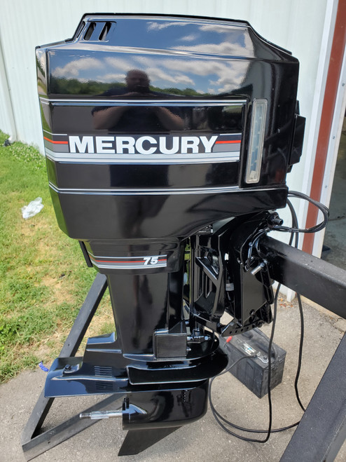 "1993 Mercury 75 HP 3 Cylinder Carbureted 2-Stroke 20"" (L) Outboard Motor"