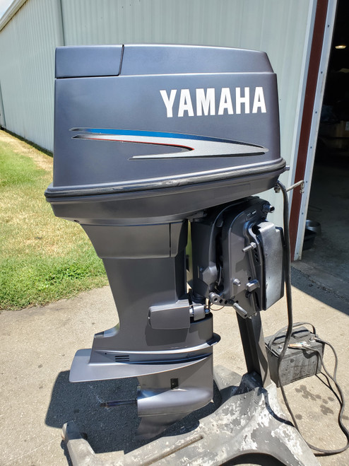 "2009 Yamaha 90 HP 3 Cyl Carbureted 2-Stroke 20"" (L) Outboard Motor"