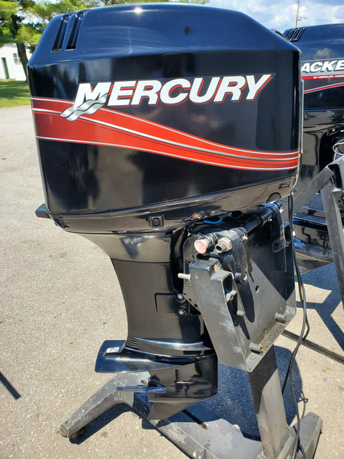 "2008 Mercury 50 HP 3 Cyl Carbureted 2-Stroke 20"" (L) Outboard Motor"