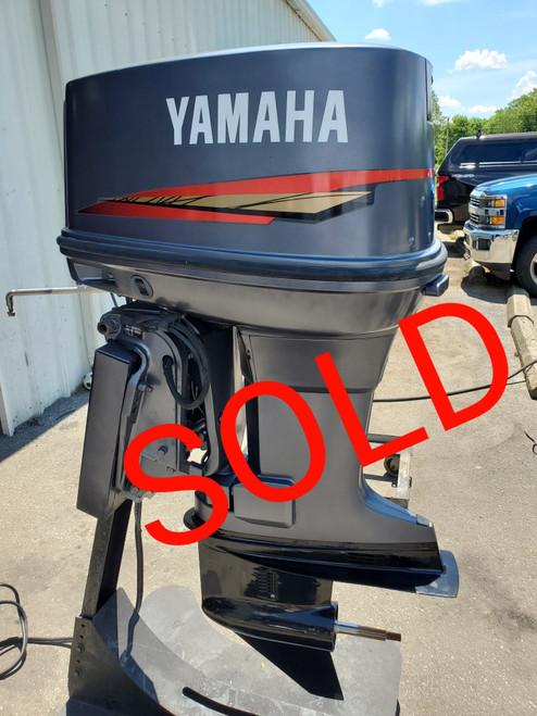 """1989 Yamaha 115 HP V4 Carbureted 2-Stroke 20"""" (L) Outboard Motor"""