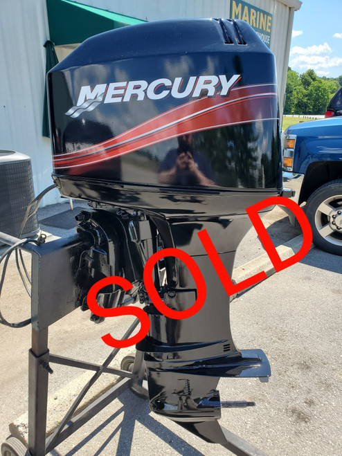 """2003 Mercury 50 HP 3 Cyl Carbureted 2-Stroke 20"""" (L) Outboard Motor"""