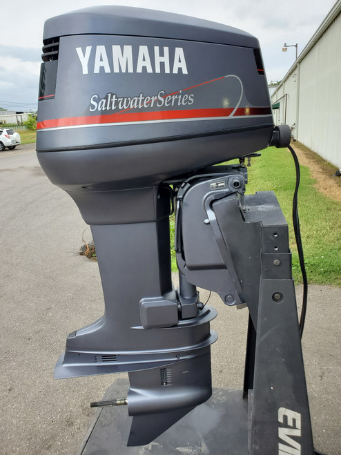 "1999 Yamaha 130 HP V4 Carbureted 2-Stroke 25"" (X) Outboard Motor"