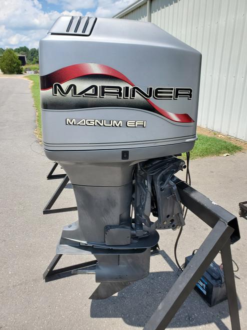 """1997 Mariner 225 HP 6-Cylinder EFI 2-Stroke 3.0L 20"""" (L) Outboard Motor"""