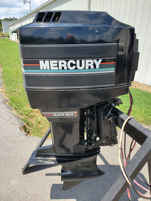 "1990 Mercury Black Max 200 HP 6 Cyl Carbureted 2-Stroke 20"" (L) Outboard Motor"