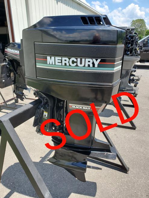 "1990 Mercury Black Max 200 HP 6 Cyl Carbureted 2-Stroke 20"" (L) Outboard Motor"