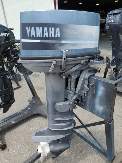 """1992 Yamaha 30 HP 2 Cyl Carbureted 2-Stroke 20"""" (L) Outboard Motor"""