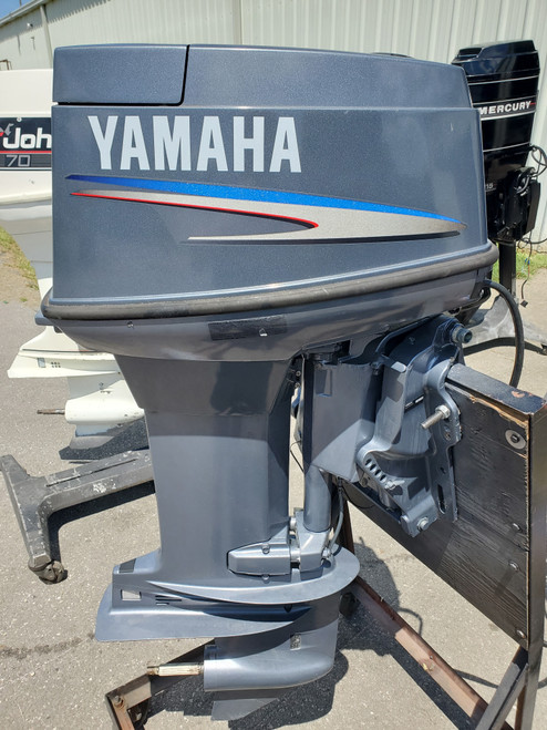 "2008 Yamaha 50 HP 3-Cyl Carbureted 2-Stroke 20"" (L) Outboard Motor"