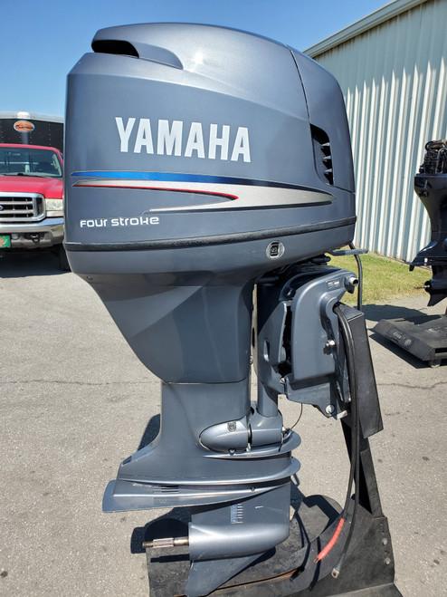 "2002 Yamaha 115 HP 4-Cyl EFI 4-Stroke Counter Rotation 25"" (X) Outboard Motor"