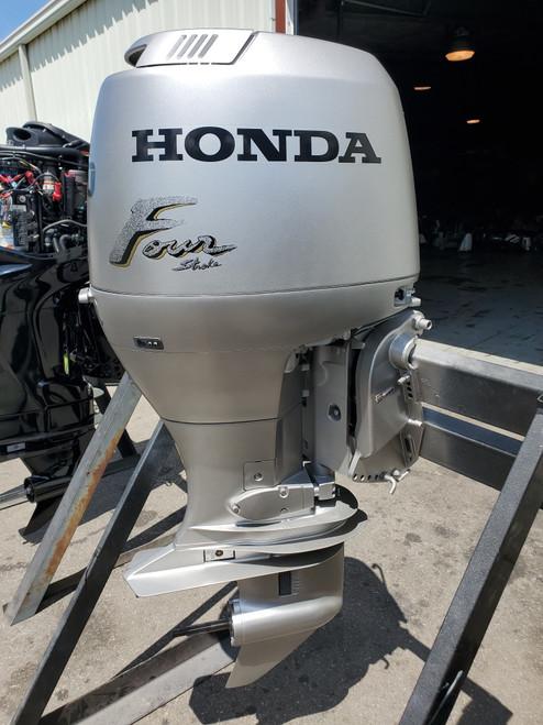 """2007 Honda 90 HP 4-Cylinder Carbureted 4-Stroke 20"""" (L) Outboard Motor"""