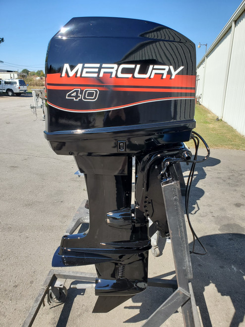 """1995 Mercury 40 HP 4-Cyl Carbureted 2-Stroke 20"""" (L) Outboard Motor"""
