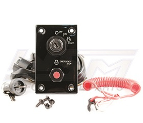 New WSM Brand Suzuki Single Engine Ignition & Emergency Stop Switch Panel Assembly