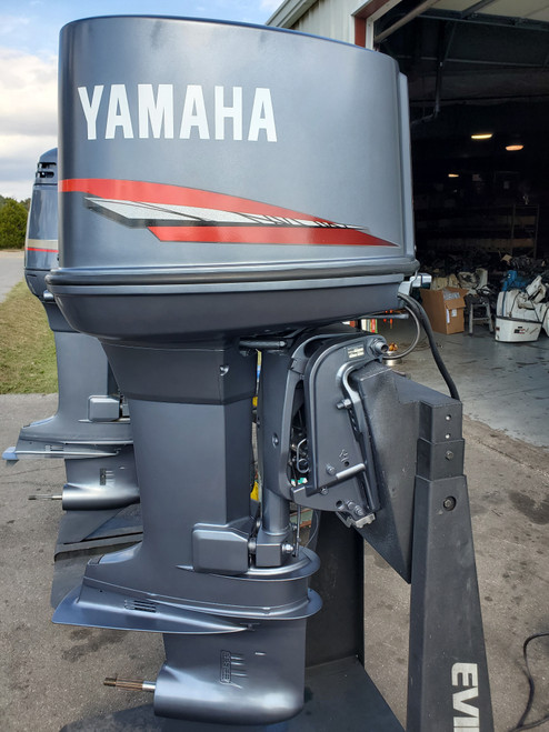 "1989 Yamaha 150 HP V6 Carbureted 2-Stroke 25"" (X) Outboard Motor"
