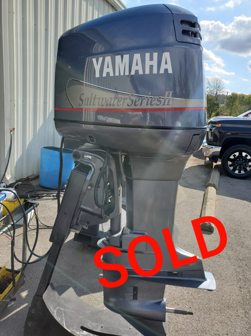 "1996 Yamaha 200 HP V6 Carbureted 2-Stroke 25"" (X) Outboard Motor"