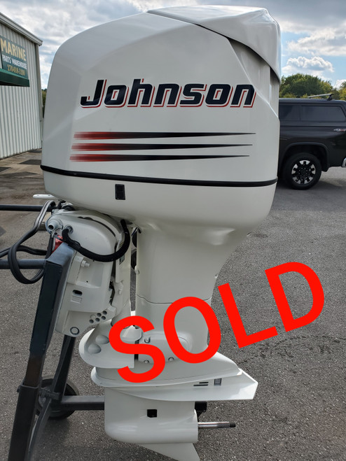 """2002 Johnson 175 HP 6-Cyl Carbureted 2-Stroke 25"""" (X) Outboard Motor"""