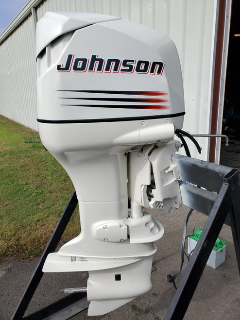 "2003 Johnson 150 HP 6-Cyl Carbureted 2-Stroke 25"" (X) Outboard Motor"