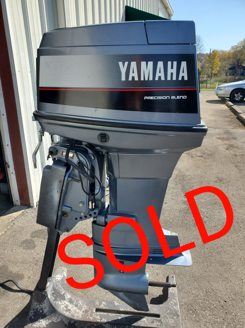 "1989 Yamaha 90 HP 3-Cyl Carbureted 2-Stroke 20"" (L) Outboard Motor"