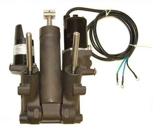 New 1984-1995 API Marine Mercury/Mariner 35-250 HP 3-Ram 3-Wire Replacement Tilt and Trim System