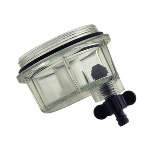 New Pro Marine Nissan/Tohatsu Bowl, Clear Plastic Racor Style [OEM 9-37884]