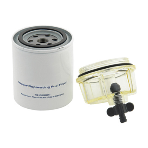 New Pro Marine Nissan/Tohatsu Fuel Filter w/ Clear Bowl Racor Style [OEM 9-37882]