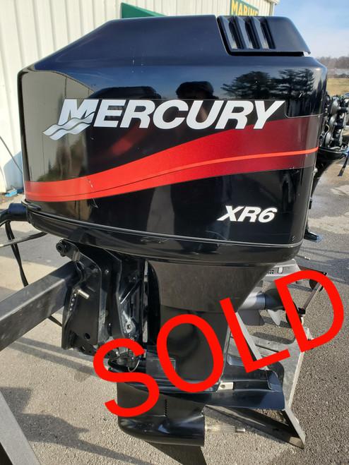"2002 Mercury XR6 150 HP 6-Cyl Carbureted 2-Stroke 20"" (L) Outboard Motor"