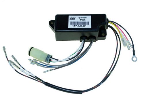 Yamaha 1987-1997 3 Cylinder 30 HP & 1997 3 Cylinder 25 HP Power Pack Replaces OEM # 6J8-85540-H0-00 & 6J8-85540-H1-00