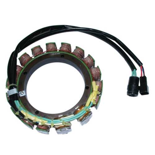 Yamaha V6 3.1L 150-250 HP Stator. Replaces OEM # 65L-85510-10-00.