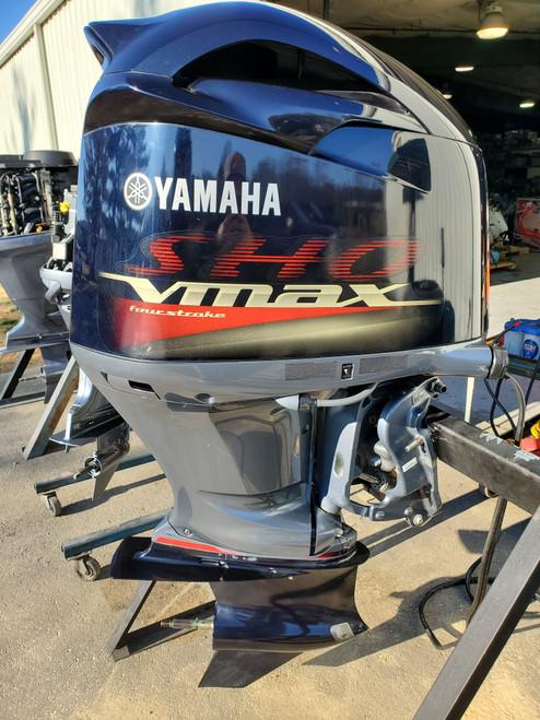 "2012 Yamaha VMAX 250 SHO 6-Cylinder EFI 4-Stroke 20"" (L) Outboard Motor"