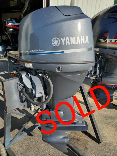 "2008 Yamaha 50 HP 4-Cylinder EFI 4-Stroke 20"" (L) Outboard Motor"