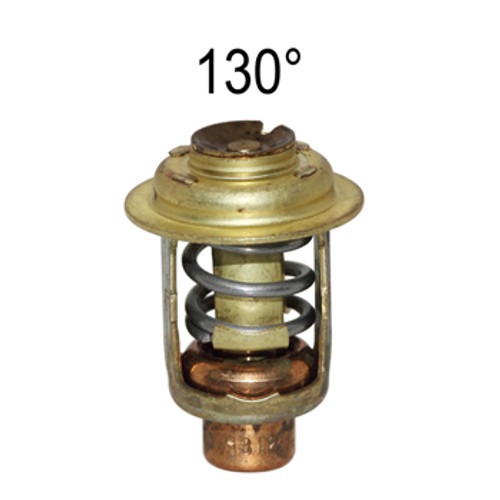 Chrysler & Force 1974-1984 35-35, 1984-1999 40 & 50 HP, Mercury 30 & 40 HP 130° Thermostat Replaces OEM # F97068-2