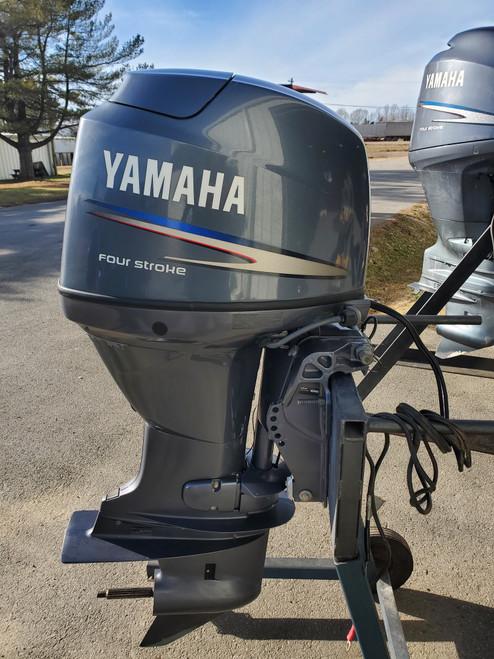 "2008 Yamaha 50 HP 4-Cylinder EFI 4-Stroke 20""(L) Outboard Motor"