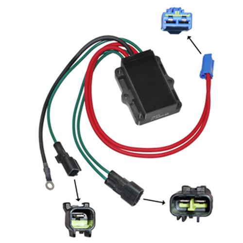 New OEM Yamaha 150/175/200 HP 2000 & Later Voltage Regulator OEM # 68F-81960-02-00