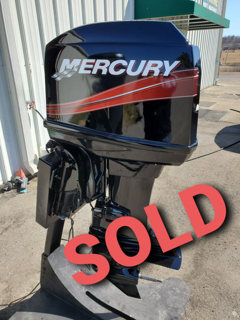 """1997 Mercury 40 HP 4-Cylinder Carbureted 2-Stroke 20"""" (L) Outboard Motor"""