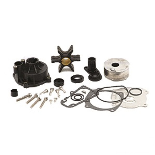 New WSM Johnson/Evinrude Water Pump Kit 85-235 HP Crossflow [OEM 0389158]