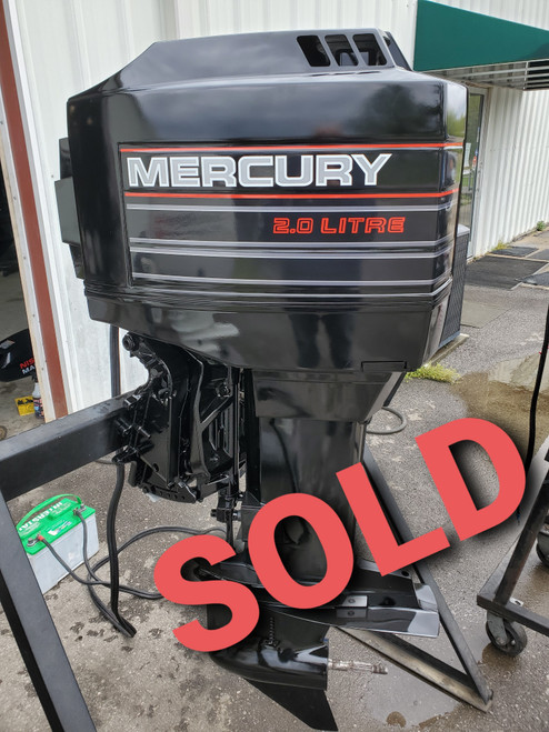 """1995 Mercury 150 HP 6-Cylinder Carbureted 2-Stroke 25""""(X) Outboard Motor"""