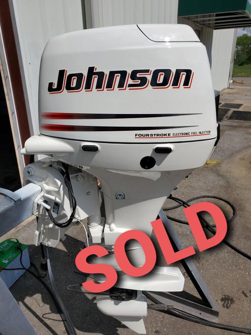 "2003 Johnson 50 HP 3-Cylinder EFI 4-Stroke 20"" (L) Outboard Motor"