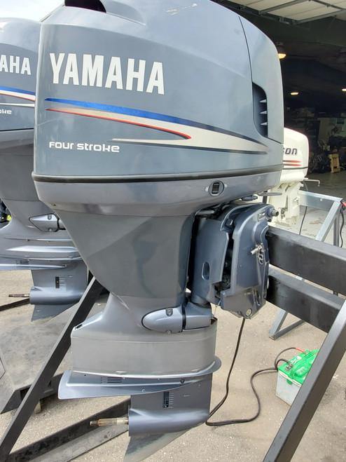 "2006 Yamaha 115 HP 4-Cylinder EFI 4-Stroke 25"" (X) Outboard Motor"