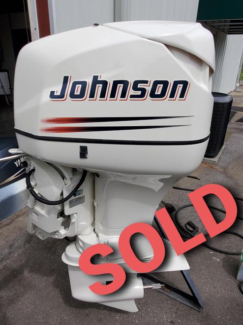 "1998 Johnson 115 HP 4-Cylinder DFI 2-Stroke 20"" (L) Outboard Motor"