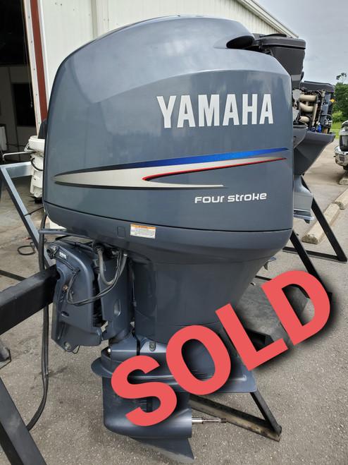 "2009 Yamaha 150 HP 4-Cylinder EFI 4-Stroke 20"" (L) Outboard Motor"